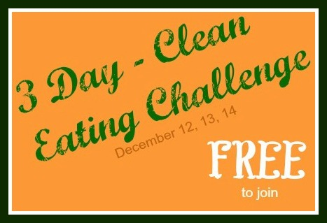 3 day clean eat fbdates-no pics